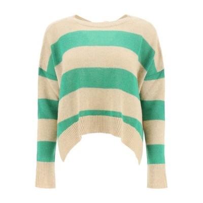 マルニ レディース ニット&セーター アウター Marni Open Back Striped Sweater -