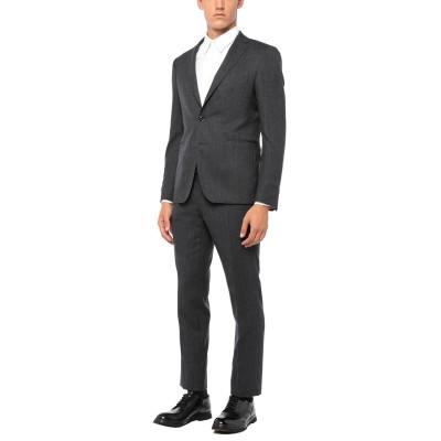 タリアトーレ TAGLIATORE スーツ グレー 46 バージンウール 98% / ポリウレタン 2% スーツ
