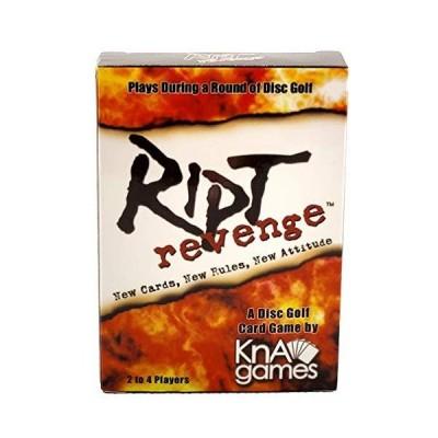 Ript Revenge ディスクゴルフカードゲーム 楽しいディスクゴルフゲーム ディスクゴルフのラウンド中に再生 スキンまたはストローク用 24プレ