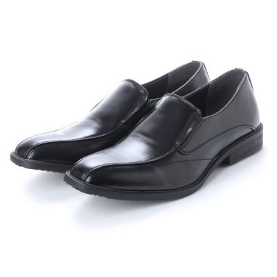 ブラッチャーノ Bracciano ビジネスシューズ メンズ 4cm4時間防水機能付き 紳士靴(バンプ) (BLACK)