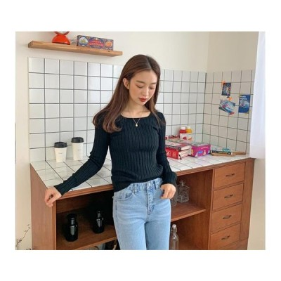 From Beginning レディース ニット/セーター After golgi square knit_U