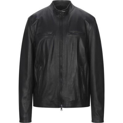 アップトゥービー UP TO BE メンズ レザージャケット ライダース アウター Biker Jacket Black