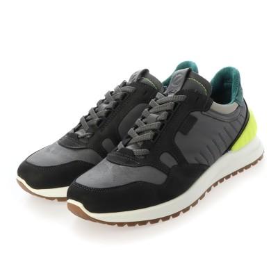 エコー ECCO ASTIR Shoe (BLACK/MAGNET/WILD DOVE/BAYGREEN)