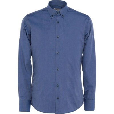 JWサックス J.W. SAX Milano メンズ シャツ トップス Linen Shirt Slate blue