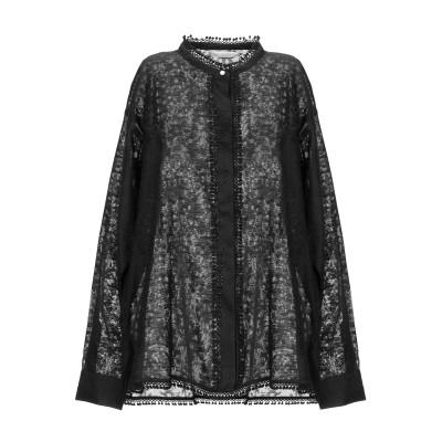 GUGLIELMINOTTI シャツ ブラック 40 コットン 100% シャツ