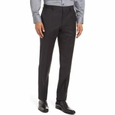 ヒューゴ ボス BOSS メンズ スラックス ボトムス・パンツ Genius5 Slim Fit Virgin Wool Dress Pants Black
