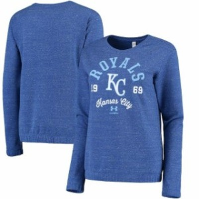 Under Armour アンダー アーマー スポーツ用品  Under Armour Kansas City Royals Womens Royal Levity Pullover Performa