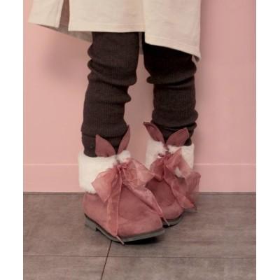SOROTTO / ラビットモチーフショートブーツ (KIDS) KIDS シューズ > ブーツ