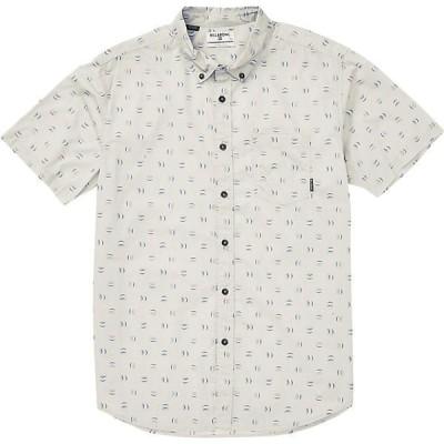 ビラボン シャツ メンズ トップス Billabong Men's Sundays Mini SS Shirt Stone