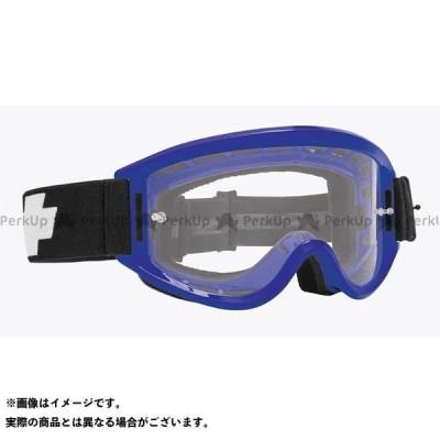 【無料雑誌付き】スパイ BREAKAWAY モトクロスゴーグル(BLUE-CLEAR W/POSTS) SPY
