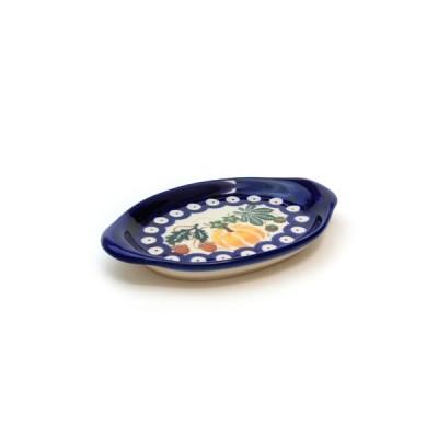 オーバルディッシュ[K739-DU441]【ポーリッシュポタリー[ポーランド食器・陶器]】