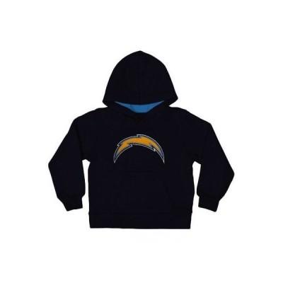 フットボール NFL アウタースタッフ Los Angeles Chargers Toddler Navy Blue Fan Gear Primary Logo Pullover Hoodie