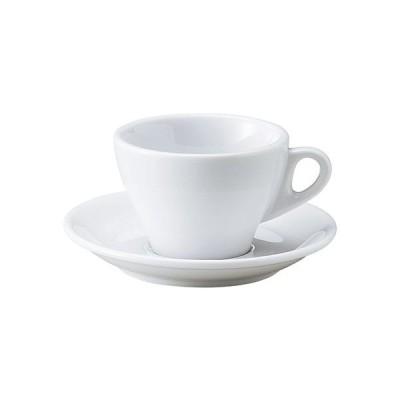 プリートカプチーノ 洋食器 カップ&ソーサー カプチーノ 業務用 カフェラテ シンプル イタリアンレストラン フレンチレストラン