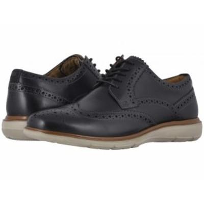 Florsheim フローシャイム メンズ 男性用 シューズ 靴 オックスフォード 紳士靴 通勤靴 Ignight Wing Tip Oxford Black【送料無料】