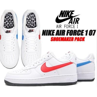 NIKE AIR FORCE 1 07 SHOEMAKER PACK white/university red ct2816-100 ナイキ エア フォース 1 07 スニーカー ホワイト レッド ブルー シューメーカーパック
