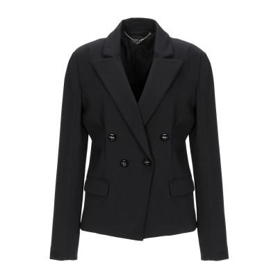 リュー ジョー LIU •JO テーラードジャケット ブラック 42 レーヨン 70% / ナイロン 26% / ポリウレタン 4% テーラードジャ