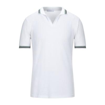 DIKTAT ポロシャツ ホワイト XL コットン 97% / ポリウレタン 3% ポロシャツ
