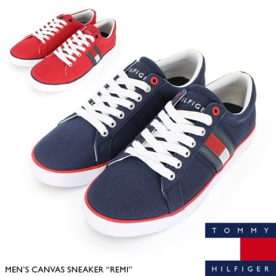 トミー ヒルフィガー TOMMY HILFIGER キャンバス スニーカー TM REMI 靴 ローカット カジュアル シューズ メンズ
