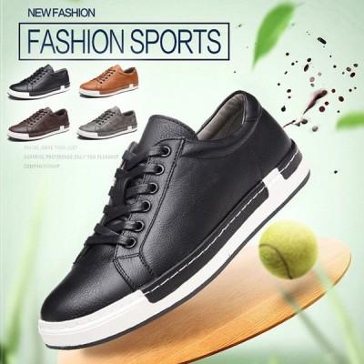 スニーカー 靴 メンズシューズ スケートボードシューズ 春夏秋冬 オールシーズン メンズ shoes 男 軽量 ファッション カジュアル 新品