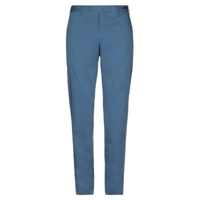 PT Torino パンツ ブルー 52 コットン 92% / シルク 5% / ポリウレタン 3% パンツ