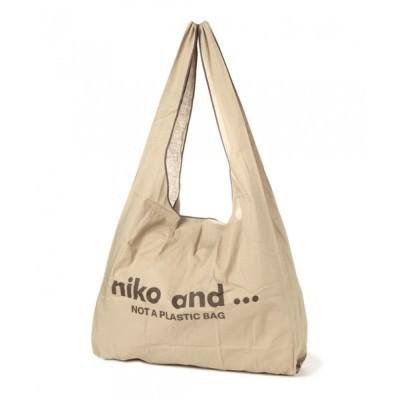 niko and... / オリジナルニコロゴマルシェバッグ WOMEN バッグ > エコバッグ/サブバッグ