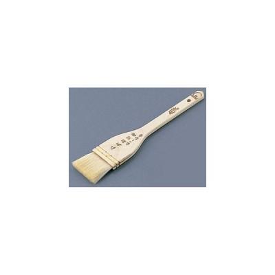 SA木柄白ハケ(山羊毛) 30mm WHK01030