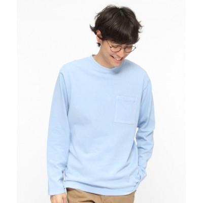 LAKOLE / 製品染めUSAコットンロングスリーブTシャツ / LAKOLE MEN トップス > Tシャツ/カットソー