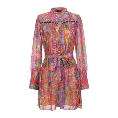 フランキー モレロ FRANKIE MORELLO ミニワンピース&ドレス フューシャ 46 ポリエステル 100% ミニワンピース&ドレス