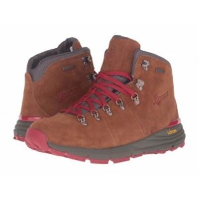 Danner ダナー メンズ 男性用 シューズ 靴 ブーツ ハイキング トレッキング Mountain 600 4.5 Brown/Red【送料無料】