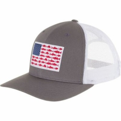 コロンビア キャップ PFG Mesh Snap Back Ball Cap Titanium/Fish Flag