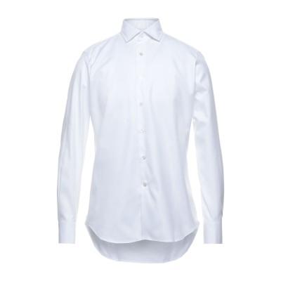 バグッタ BAGUTTA シャツ ホワイト 40 コットン 100% シャツ
