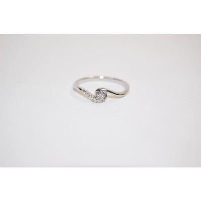 ヴァンドーム青山 VENDOME AOYAMA Pt950 ダイヤモンド リング 指輪 サイズ約13号 レディスリング 【中古】【当日発送】