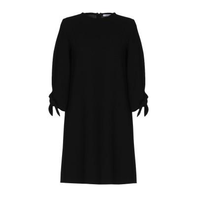 I BLUES ミニワンピース&ドレス ブラック 46 100% ポリエステル ミニワンピース&ドレス