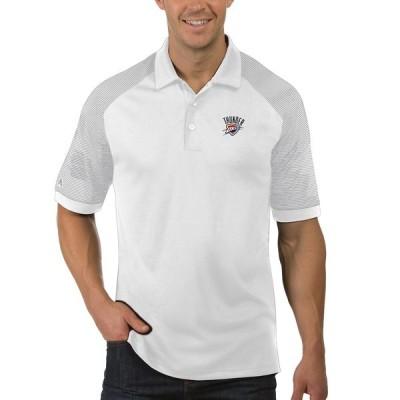 オクラホマシティ・サンダー Antigua Engage ポロシャツ - White