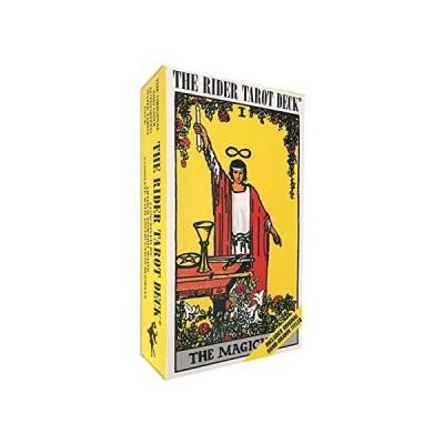 Gammi タロットカード 占い ウェイト版 78枚ライダータロット スタンダード 英語説明書 日本語翻訳文 タロットポーチ付き
