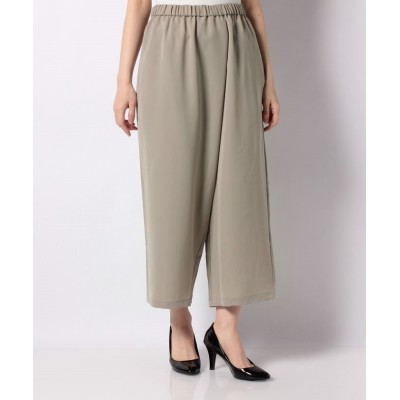 【マーコート】 wrap like pants レディース BEIGE 2 MARcourt