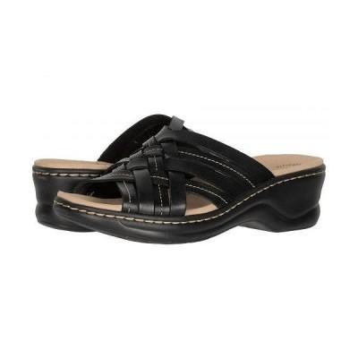 Clarks クラークス レディース 女性用 シューズ 靴 ヒール Lexi Selina - Black Leather