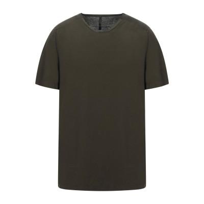 TRANSIT T シャツ ミリタリーグリーン XL コットン 98% / ナイロン 2% T シャツ
