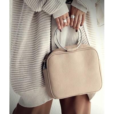 antiqua / バッグ 華奢なリングハンドルが、洗練された大人女性を演出。 WOMEN バッグ > ショルダーバッグ