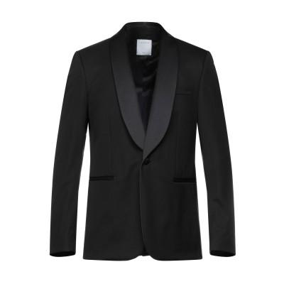 SANDRO テーラードジャケット ブラック 50 ウール 83% / ポリエステル 17% テーラードジャケット