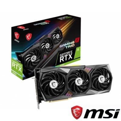 MSI 微星 GeForce RTX 3060 GAMING X TRIO 12G 顯示卡