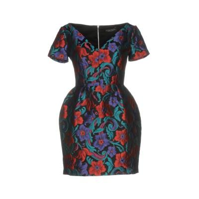 NORA BARTH ミニワンピース&ドレス ブラック 40 97% ポリエステル 3% ナイロン ミニワンピース&ドレス