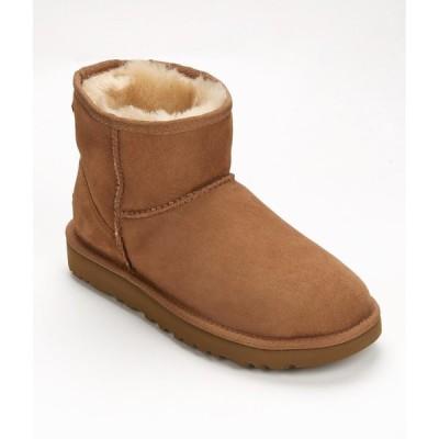 アグ レディース ブーツ シューズ・靴 UGG Classic Mini Boots II Chestnut