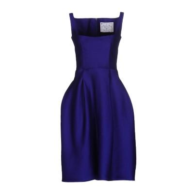ディースクエアード DSQUARED2 ミニワンピース&ドレス パープル 38 ウール 54% / シルク 46% ミニワンピース&ドレス