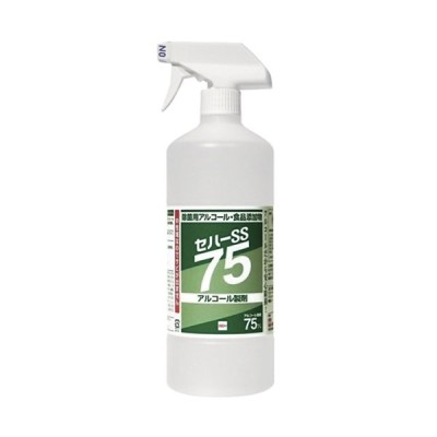 除菌用アルコール・食品添加物 セハーSS75 1L トリガー付き