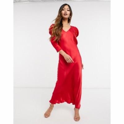 ゴースト Ghost レディース ワンピース ワンピース・ドレス Abby Dress In Red レッド