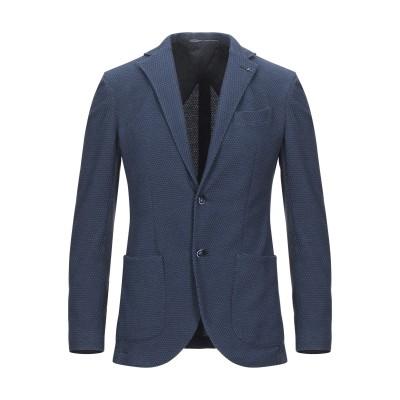 アティピコ AT.P.CO テーラードジャケット ブルーグレー 48 コットン 81% / ポリエステル 15% / ポリウレタン 4% テーラード