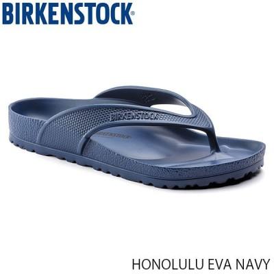 ビルケンシュトック BIRKENSTOCK メンズ レディース サンダル ホノルル HONOLULU EVA UNISEX NAVY 幅広 レギュラー おしゃれ GE1015489 国内正規品
