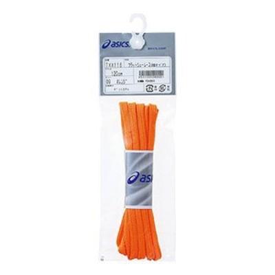 アシックス  TXX116 フラットシューレース(細タイプ)  130cm  09(オレンジ)