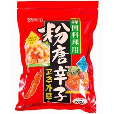 ユウキ 粉唐辛子韓国料理用 200g まとめ買い(×10)|4903024101400(tc)